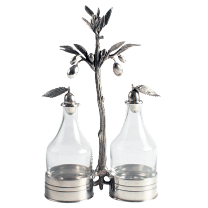 Olive Grove Oil and Vinegar Server