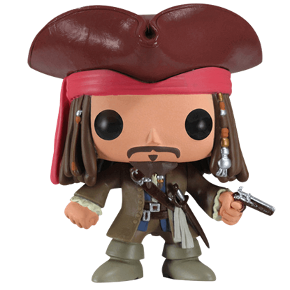 Disney Captain Jack Sparrow POP Figure