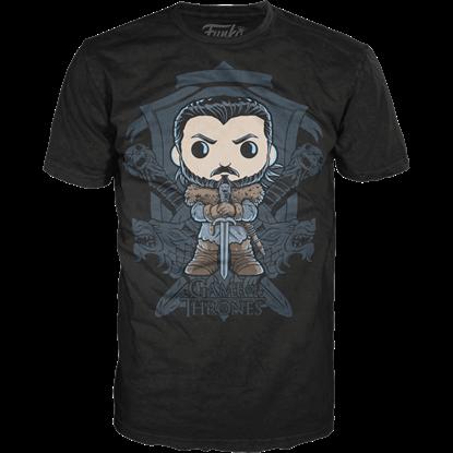 John Snow Crest POP T-Shirt