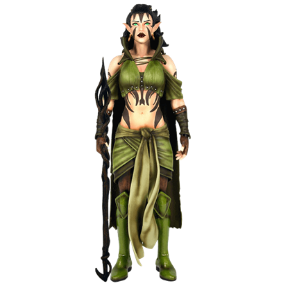Magic the Gathering Nissa Revane Legacy Figure