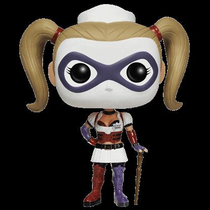 Arkham Asylum Nurse Harley Quinn POP Figure