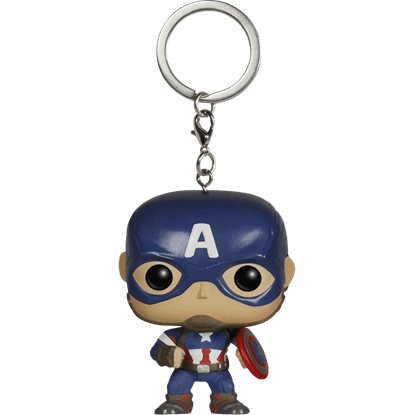 Avengers 2 Captain America Pocket POP Keychain
