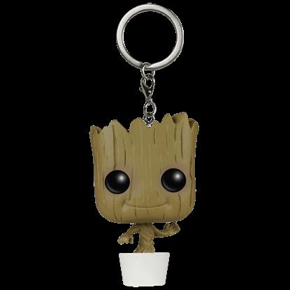 Baby Groot Pocket POP Bobblehead Keychain