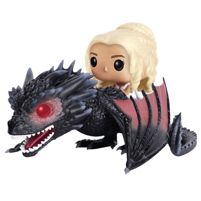 Daenerys and Drogon POP Figure