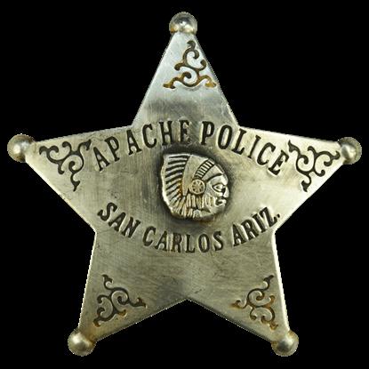 Arizona Apache Police Badge