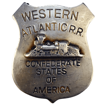 CSA Western Atlantic Railroad Badge