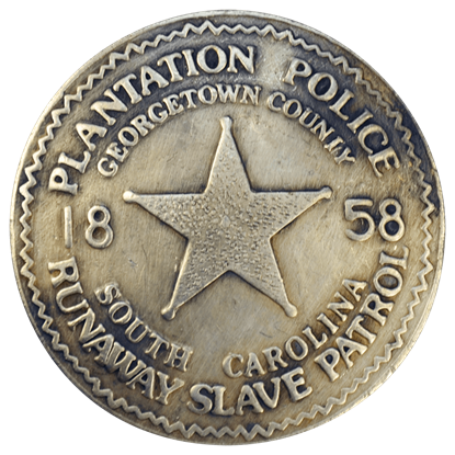 South Carolina Plantation Police Badge
