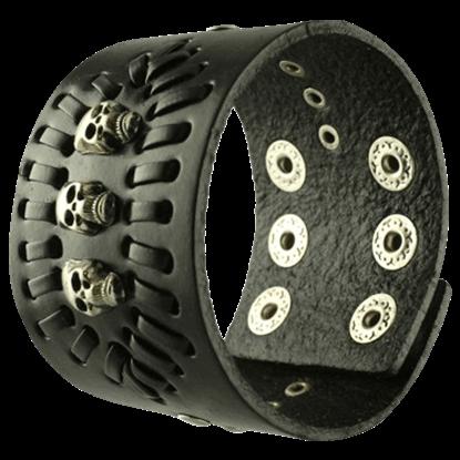 Pirate Leather Bracelet