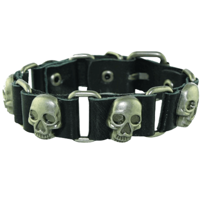 Gothic Pirate Skull Chain