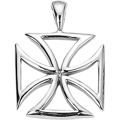 Crusader Maltese Cross Pendant