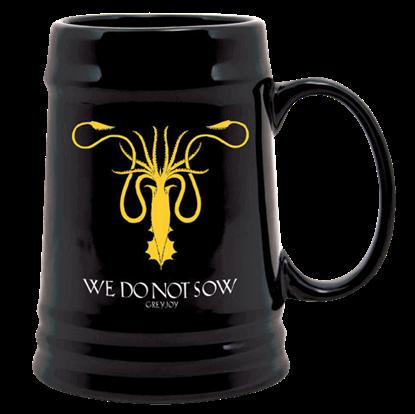 Game of Thrones Greyjoy Sigil Ceramic Stein