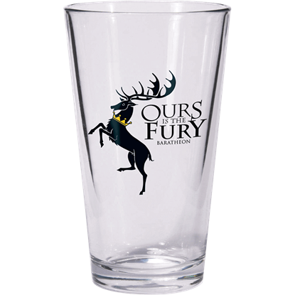 Baratheon Game of Thrones Pint Glass