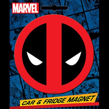 Deadpool Emblem Magnet