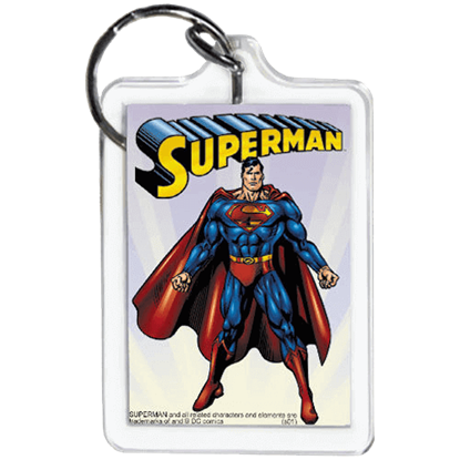 DC Comics Superman Keychain