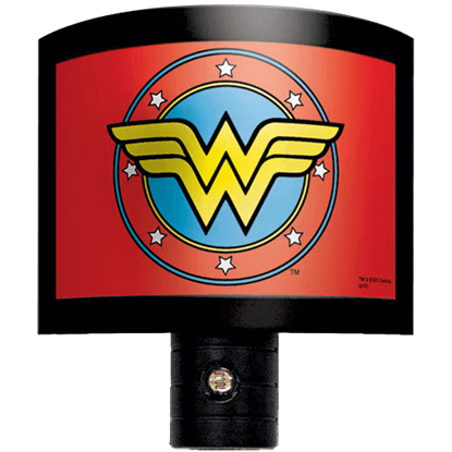 Wonder Woman Logo Night Light
