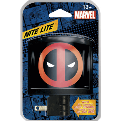 Deadpool Logo Night Light