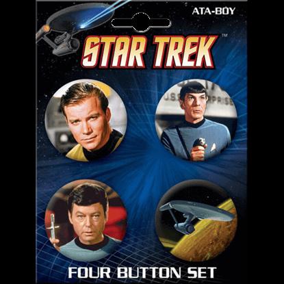 Star Trek Classic Icons Button Set