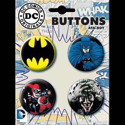 Batman vs. Villains Button Set