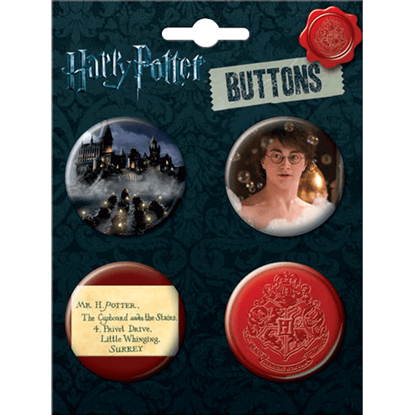 Enchanted World of Harry Potter Button Set