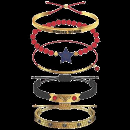 Wonder Woman Arm Party Bracelets