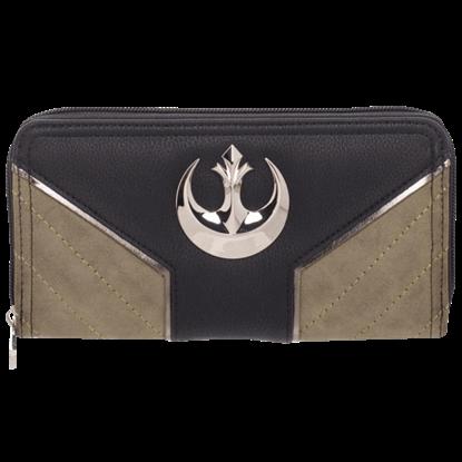 Rogue One Rebel Jyn Zip Around Wallet