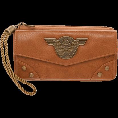 Wonder Woman Top Zip Wallet