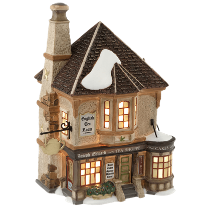 Joseph Edward Tea Shoppe - Dickens Village by Department 56