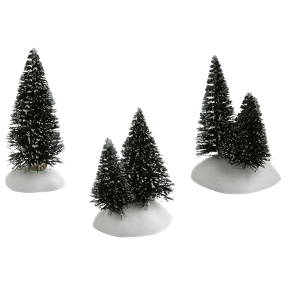 Mini Sisal Trees - Village Landscapes and Trees by Department 56