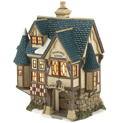 Balmoral Lodge - Dickens Village by Department 56
