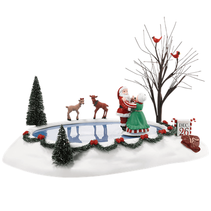 Animated Christmas Waltz - Accessory Buildings and Figurines by Department 56