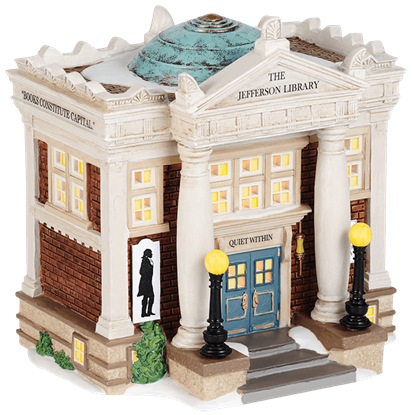 The Jefferson Library - New England Village by Department 56