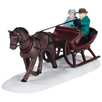 New England Sleigh Ride - New England Village by Department 56
