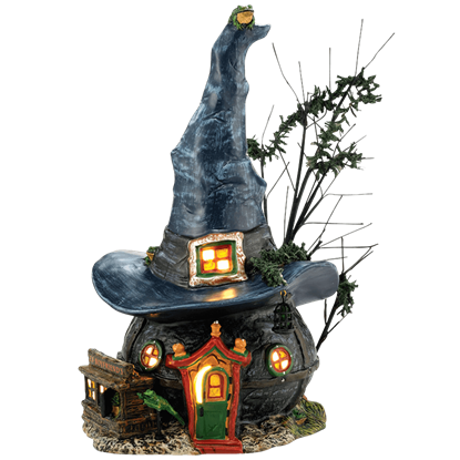 Toads and Frogs Witchcraft Haunt - Halloween Village by Department 56
