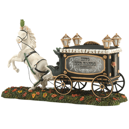 Haunted Hearse - Halloween Village by Department 56