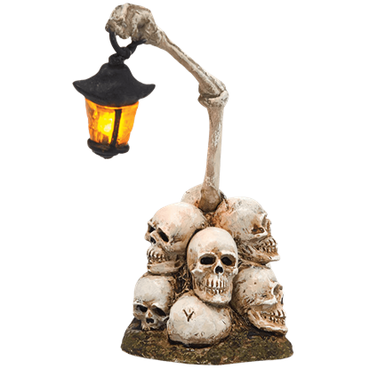Boneyard Lantern - Halloween Village Accessories by Department 56