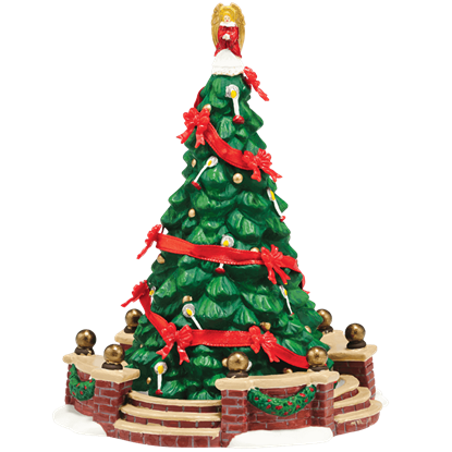 Dickens Town Tree - Dickens Village by Department 56