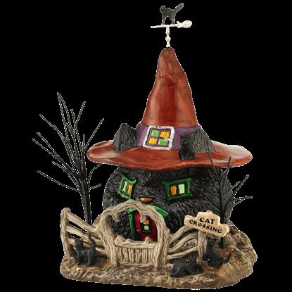 Black Cat Shack - Halloween Village by Department 56