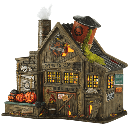 HD Ghost Riders Club - Halloween Village by Department 56