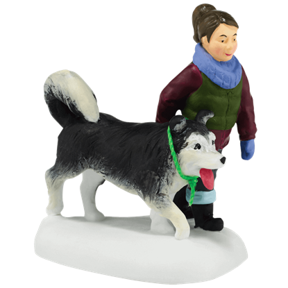 Holiday Dog Walk - Accessory Buildings and Figurines by Department 56