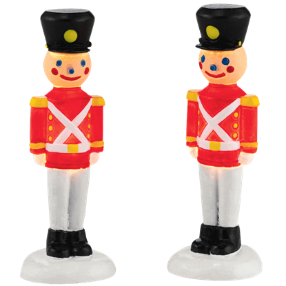 Lit Soldiers Yard Decor - Village Lighting by Department 56