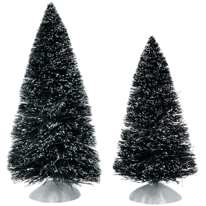Frosted Medium Pine Trees - Village Landscapes and Trees by Department 56