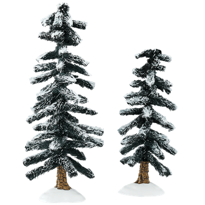 Heavy Snowed Trees - Village Landscapes and Trees by Department 56