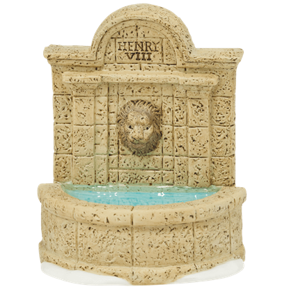 Tudor Gardens Lion Fountain - Accessory Buildings and Figurines by Department 56