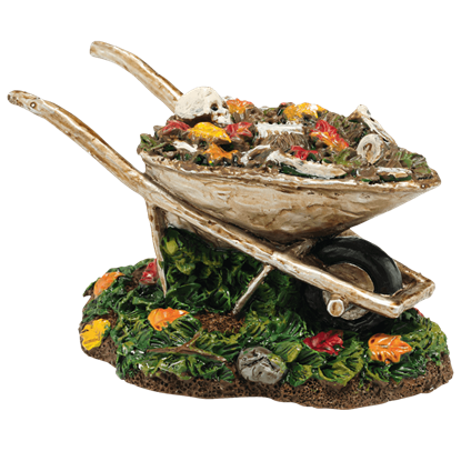 Boneyard Wheelbarrow - Halloween Village Accessories by Department 56