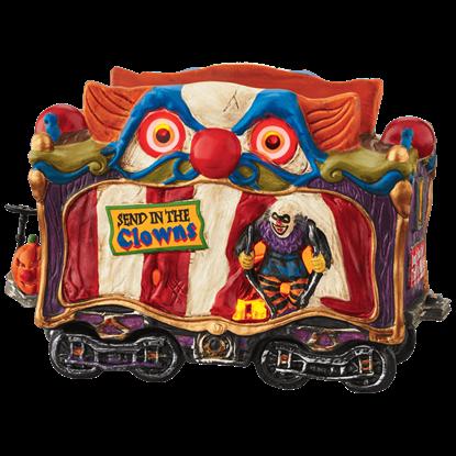 Creepy Clown Car - Halloween Village by Department 56