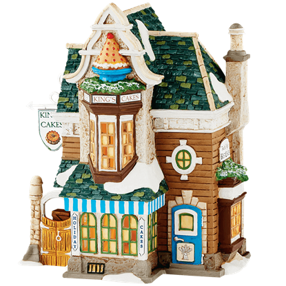 Kings Cakes - Dickens Village by Department 56