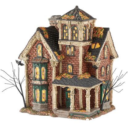 Ghastlys Haunted Villa - Halloween Village by Department 56