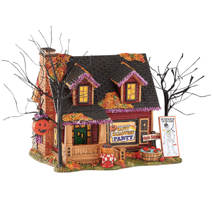 Halloween Party House - Halloween Village by Department 56