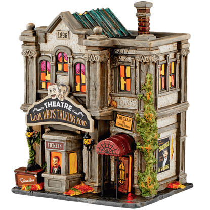 Look Whos Talking Now Theatre - Halloween Village by Department 56