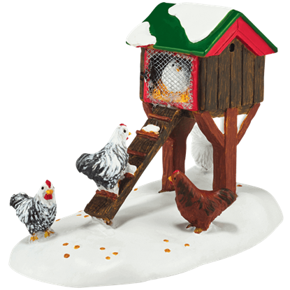 Mistletoe Farm Chicken House - Accessory Buildings and Figurines by Department 56